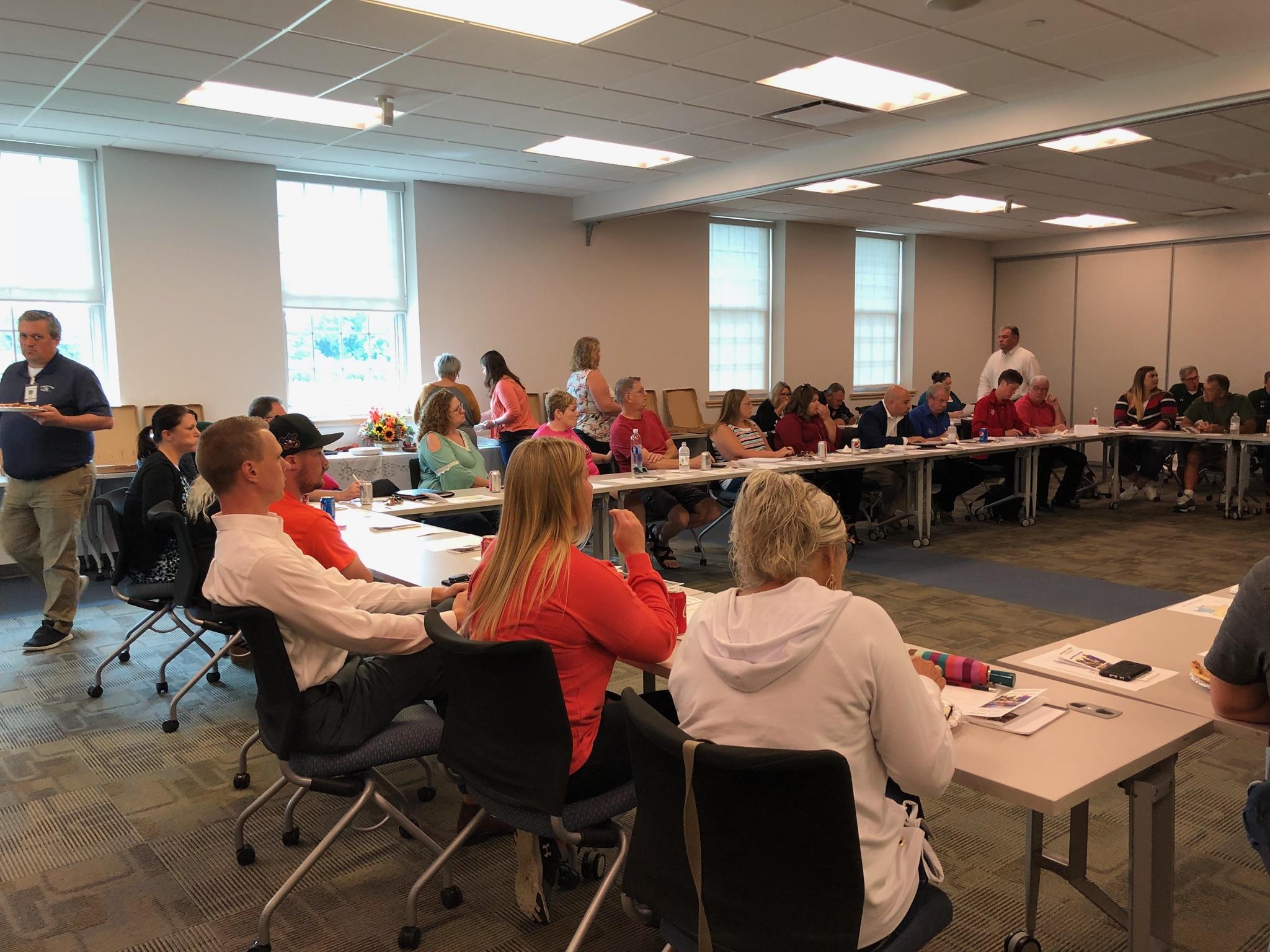 Vandalia ONE 1st Workforce Development Planning Meeting Draws Big Crowd