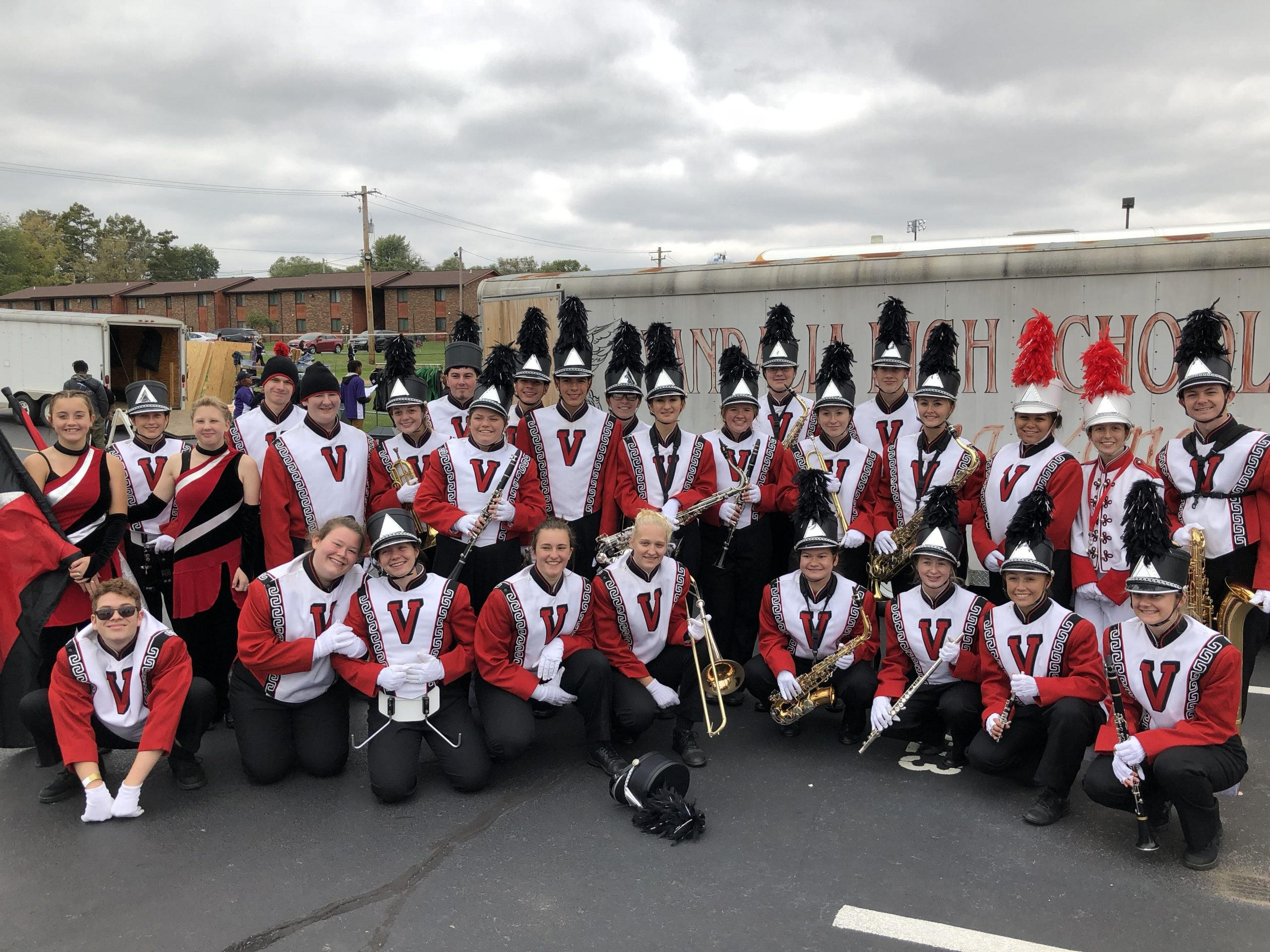 VCHS Marching Vandals with strong showing at Oblong Spooktackular Event
