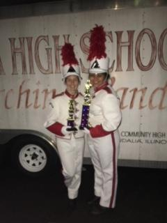 VCHS Marching Band with strong showing at McKendree Band Championships