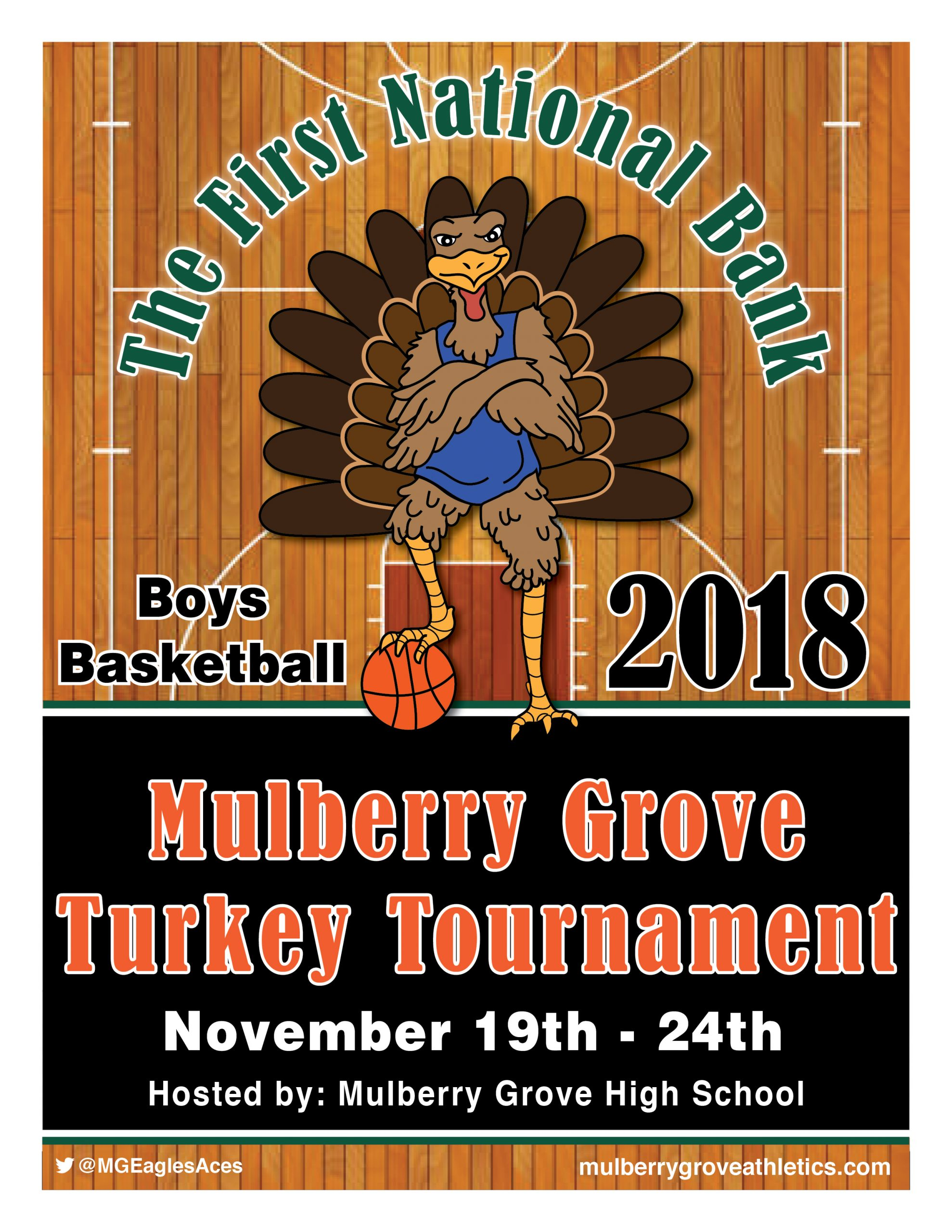 FNB-Mulberry Grove Thanksgiving Tournament gets underway tonight--All Games on WKRV