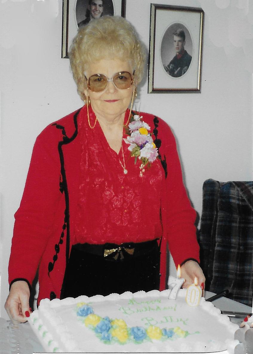 Betty M. Zimmer