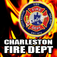 Charleston Fire Respond to Structure Fire on Van Buren Street