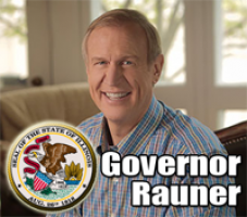 Governor Rauner Again Says He's Not In Charge