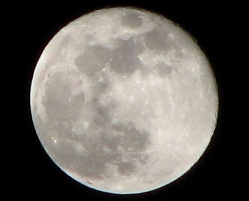 Christmas Eve Full Moon
