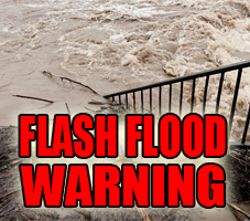 Flash Flood Warning for Part of Our Listening Area