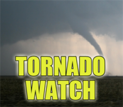 Tornado Watch Issued for Illinois Counties