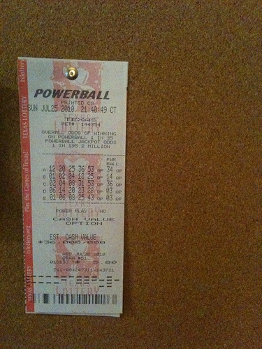 Powerball  Jackpot Increases to 900 Million Dollars!