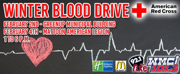 Blood Drive Today in Greenup
