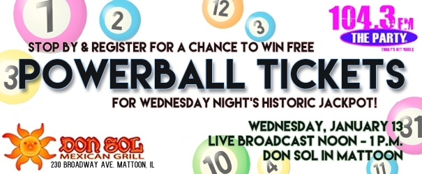Register to Win Free Powerball Tickets