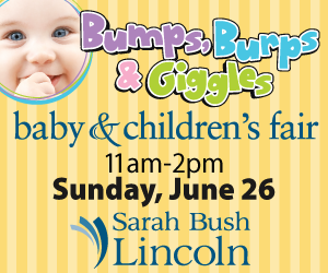 """Sarah Bush Lincoln hosts """"Bumps, Burps & Giggles"""" Baby and Children's Fair"""