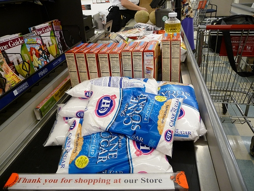 Relay For Life Bagging Groceries Saturday