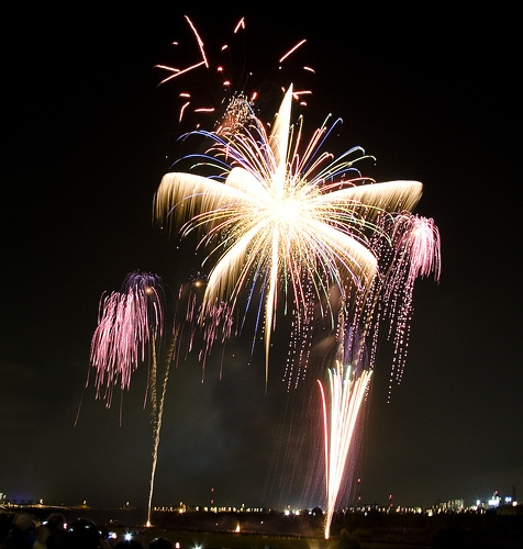 Coles Co. Fireworks Spectacular - Tonight!