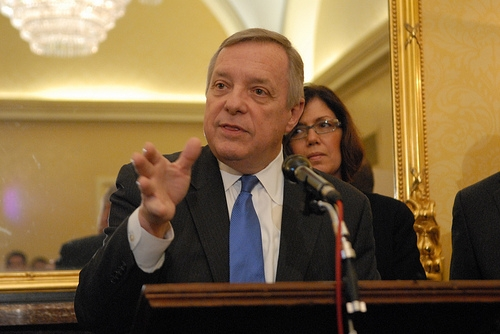 Durbin Holds Out Hope Of Federal Money For Quincy Home