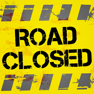 Partial Road Closing in Charleston