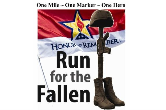The Annual Run For The Fallen is This Saturday, August 20th!