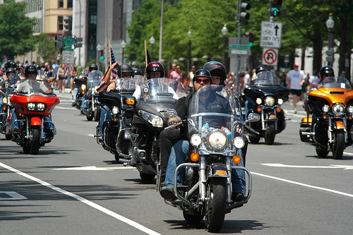 Motorcycle Ride To Honor Victims of 9/11