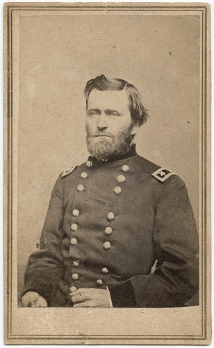 General Grant Returning to Coles County