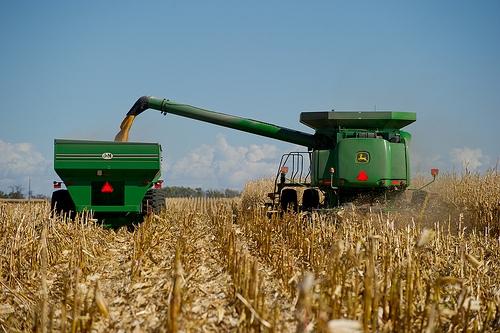 Illinois Corn Harvest About 40-Percent Complete