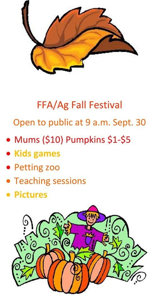 Mattoon FFA Fall Festival is September 30