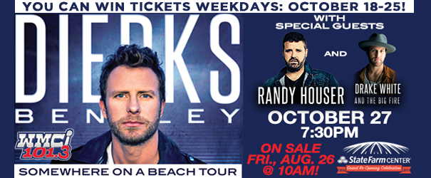 Dierks Bentley Ticket Giveaway!