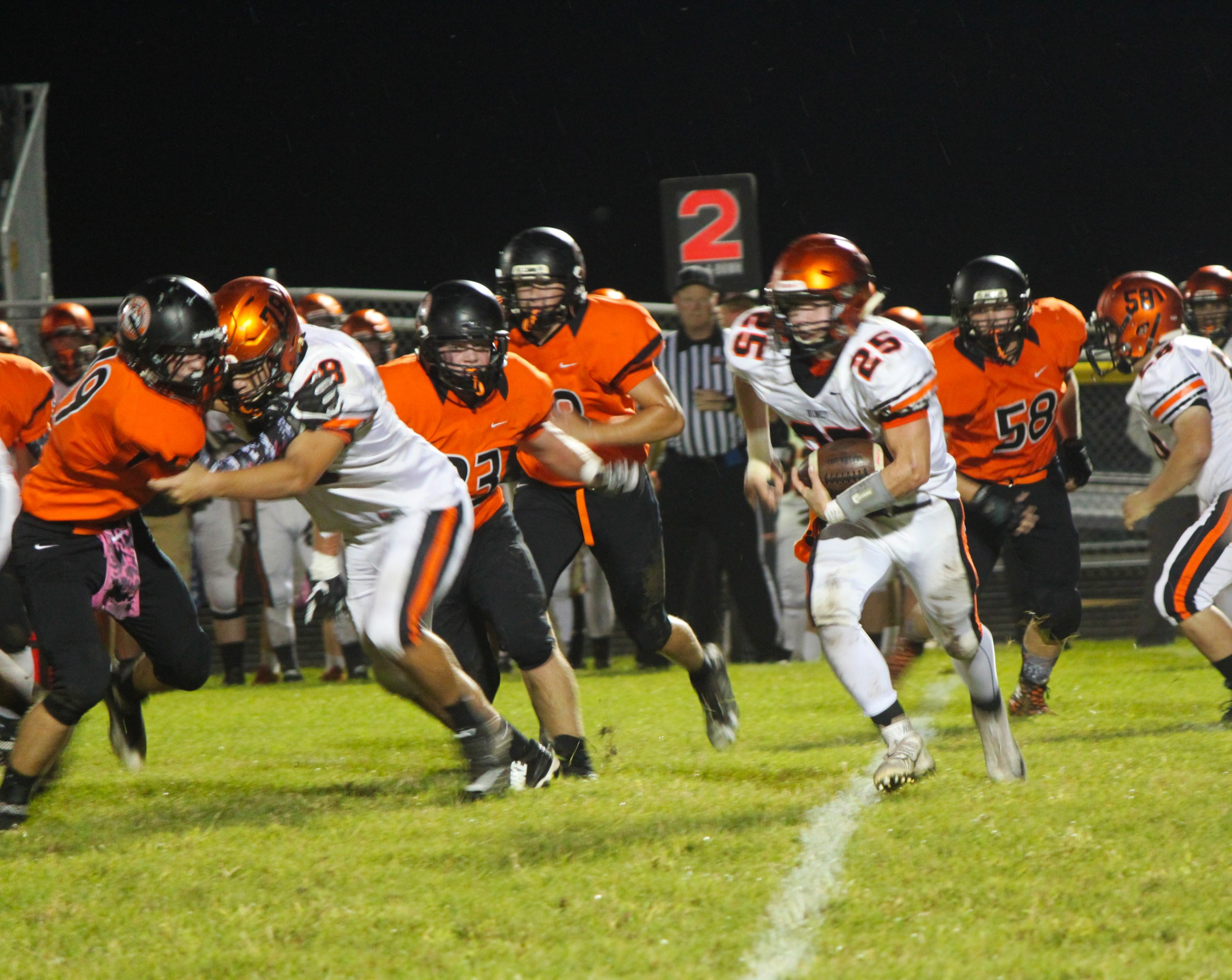 Paris loses to Olney in home game upset.