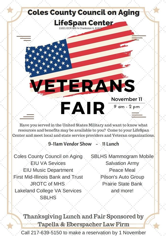 Veterans Day Fair at The LifeSpan Center