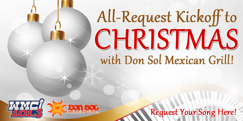 All-Request Kickoff to Christmas with Don Sol