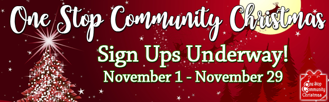 One Stop Community Christmas Sign-up