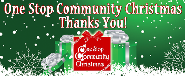 One Stop Community Christmas Thanks You!