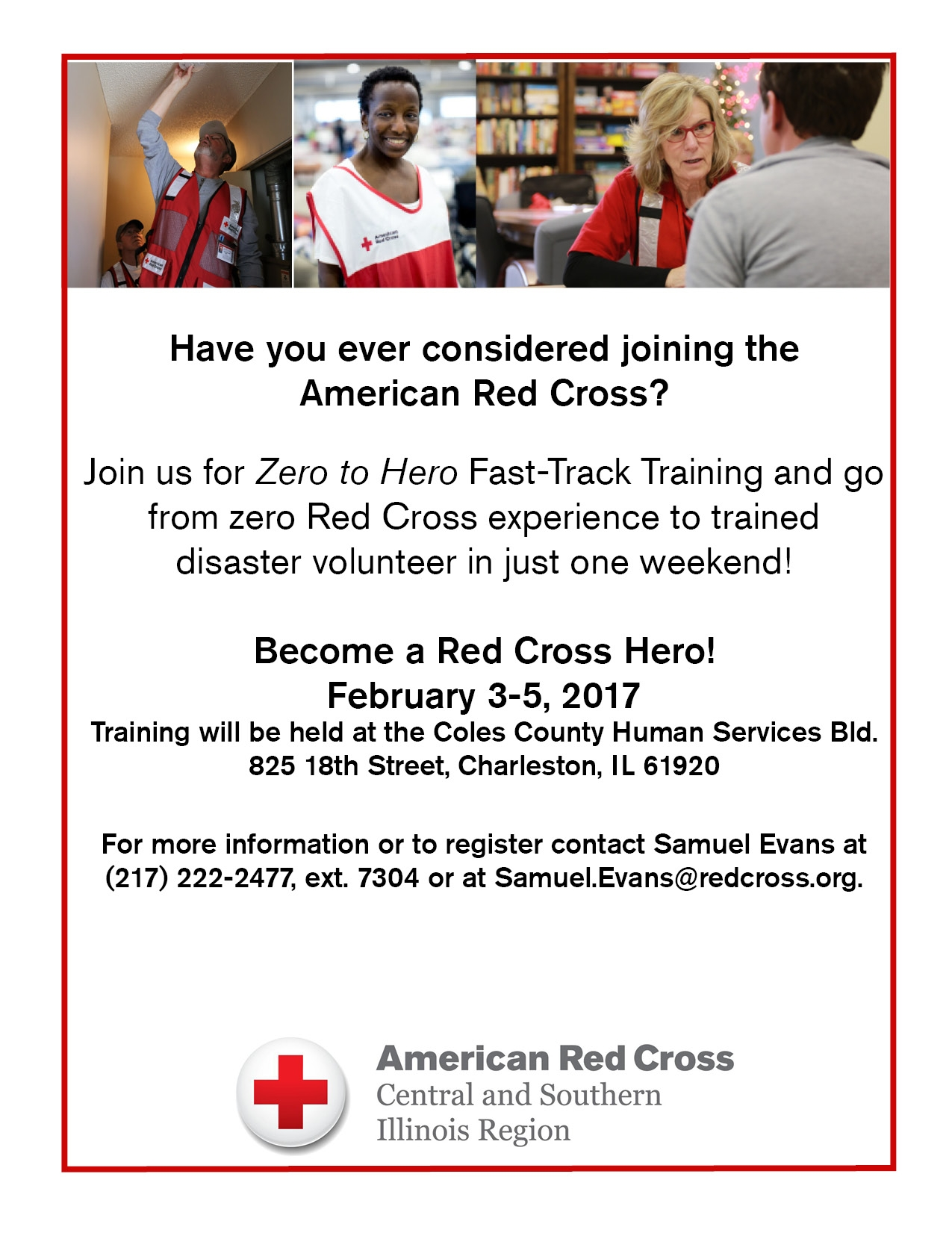 Zero to Hero disaster training Rescheduled