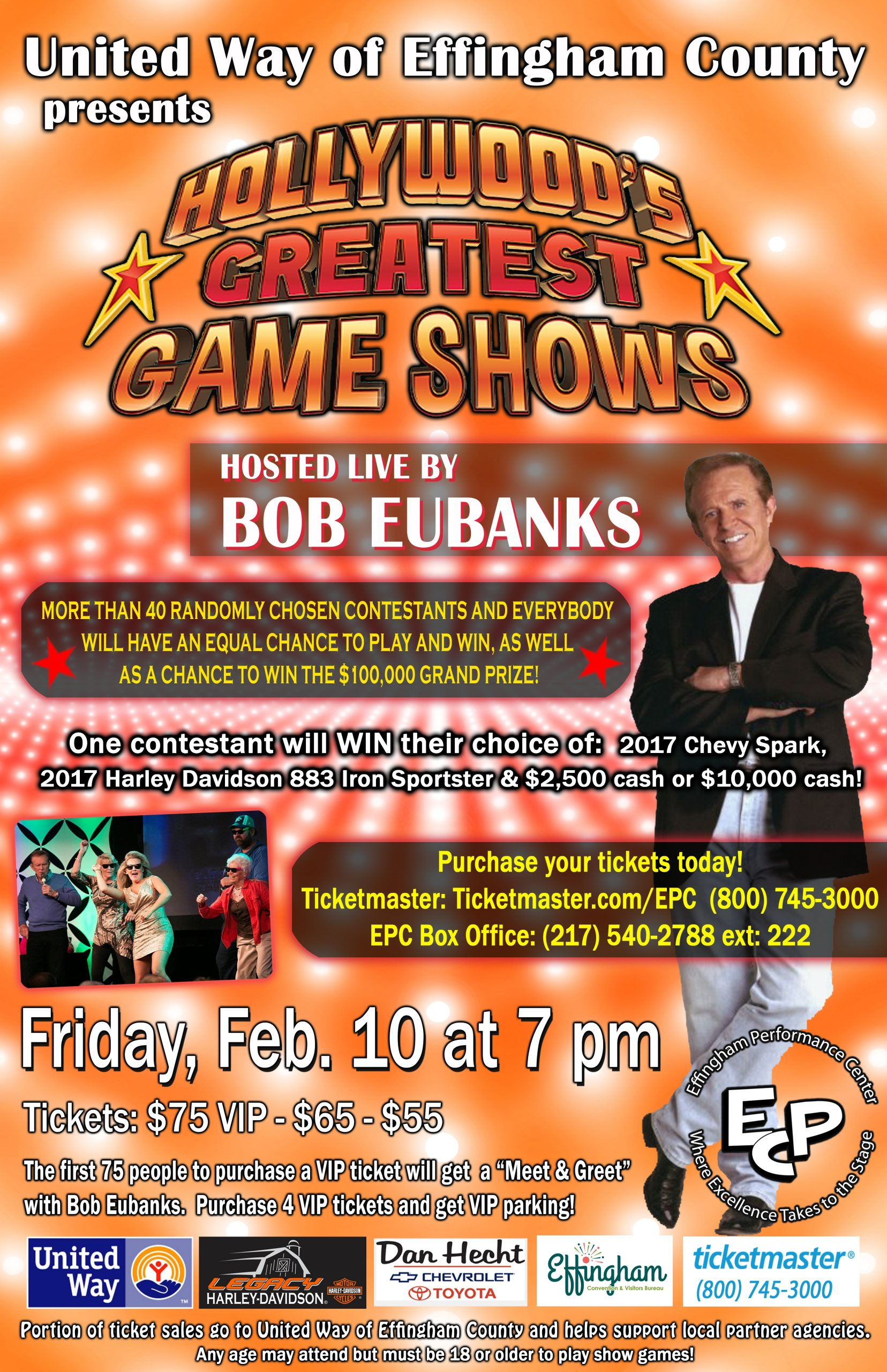 Hollywood's Greatest Game Shows in Effingham