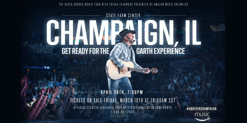 Garth Headed Back to Champaign!