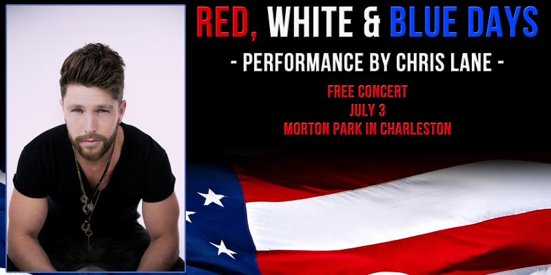 """Chris Lane at """"Red, White & Blue Days"""""""
