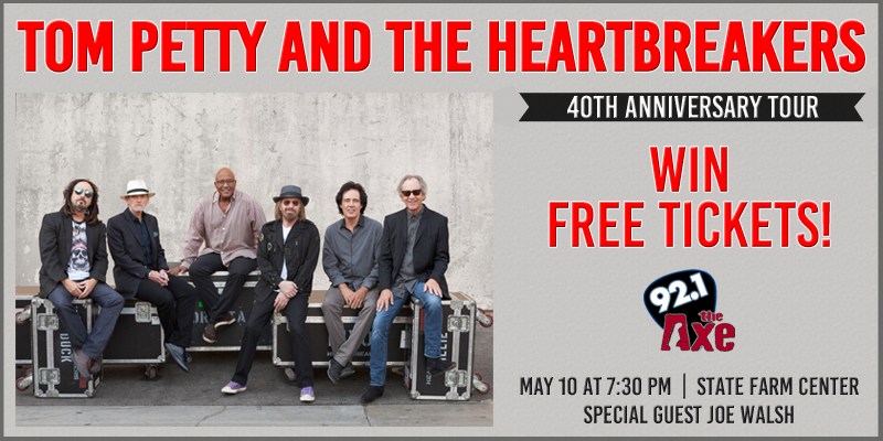 Last Chance to Win Tom Petty Tickets