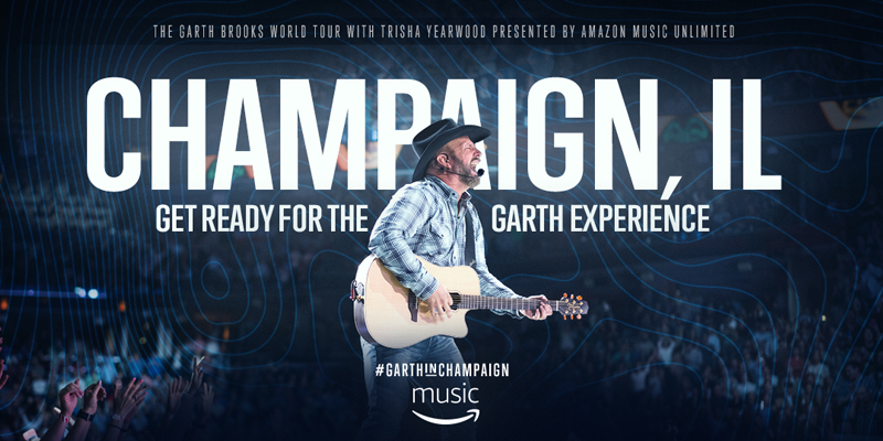 Garth Show Friday at 7pm: What you Need to Know from the State Farm Center