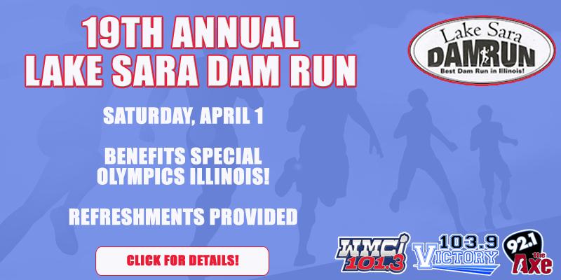 19th Annual Lake Sara Dam Run