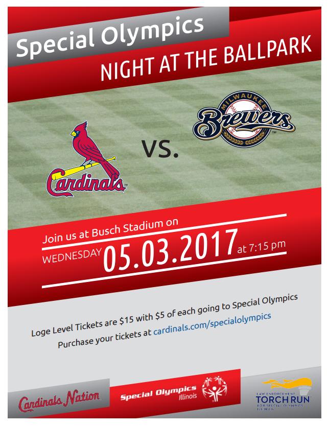 Special Olympics Night at the Ballpark