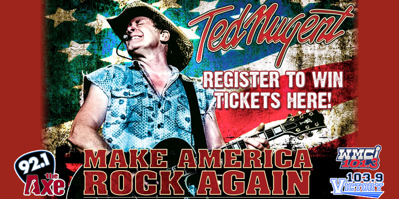 Ted Nugent Ticket Giveaway