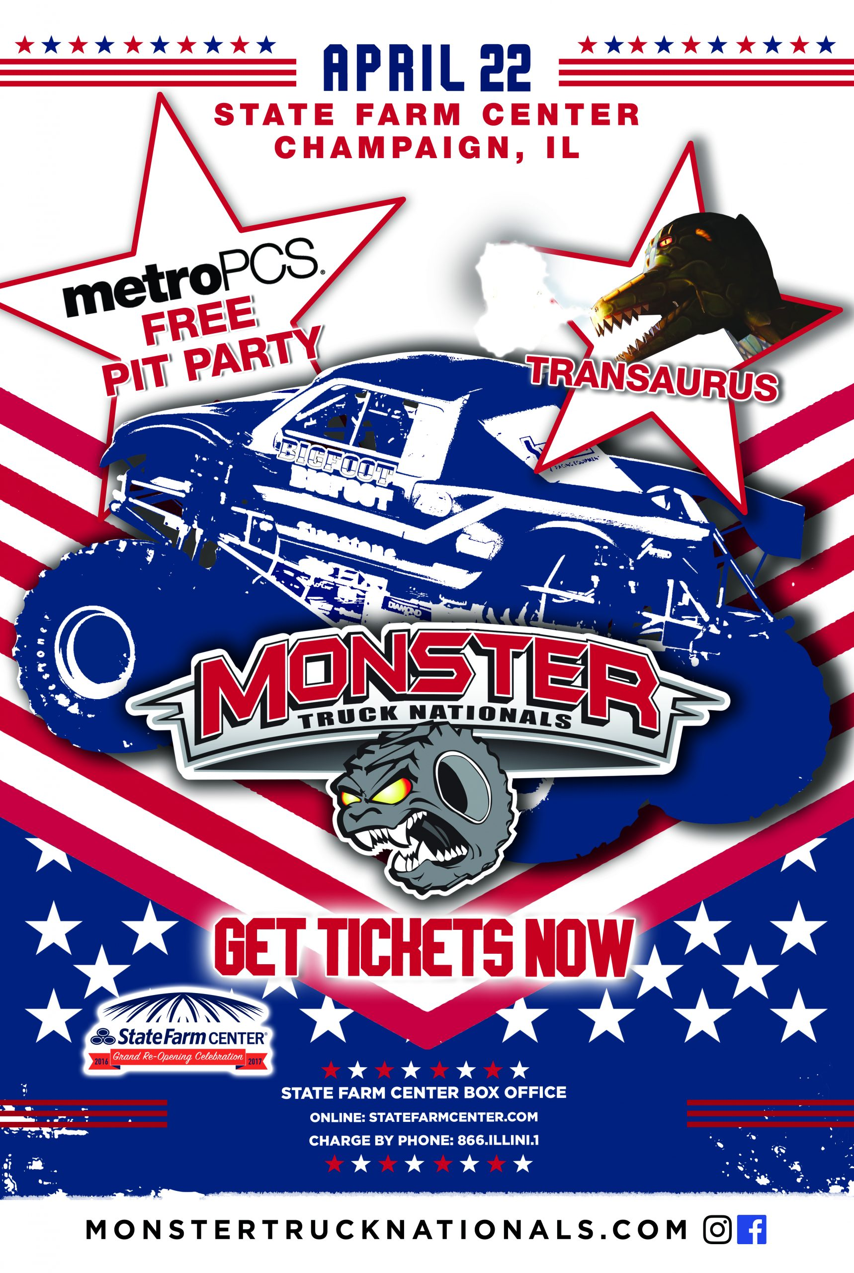 Two More Chances to Win Tickets to the Monster Truck Nationals
