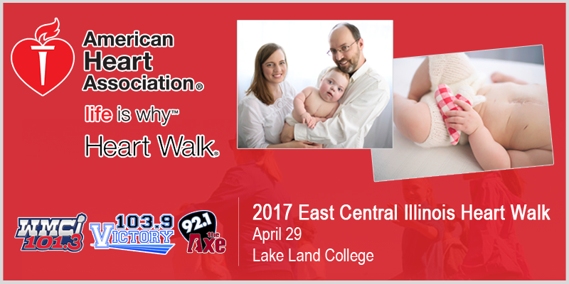 East Central Illinois Heart Walk happening today