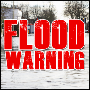 Flood Warning for Several Counties
