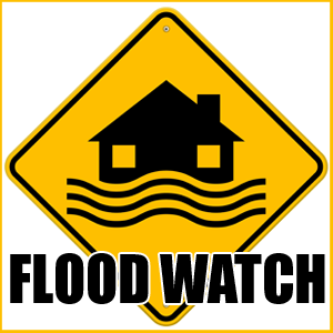 NWS: Flood Watch for Part of Our Listening Area