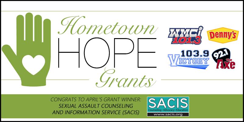 Hometown HOPE Grant - April Winner