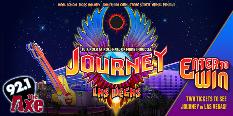 Journey in Vegas Giveaway