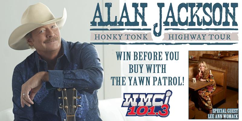 Win Alan Jackson Tickets!