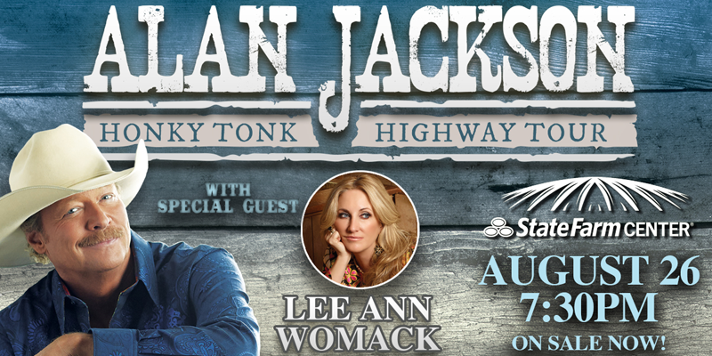 Alan Jackson Performing in Champaign