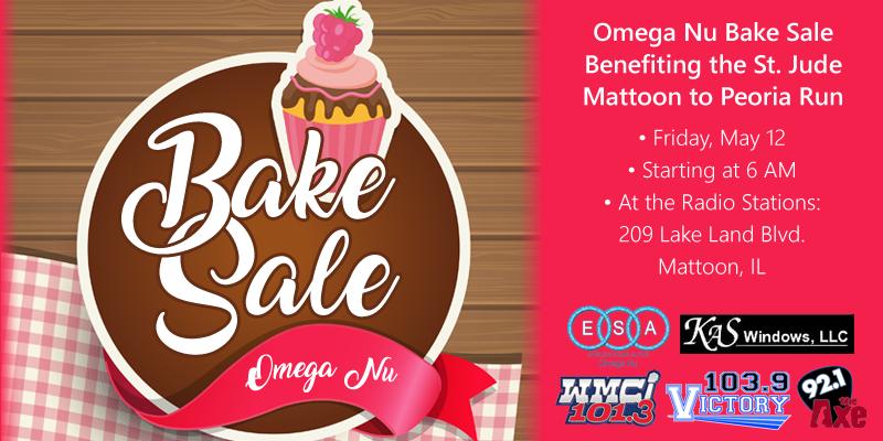 Omega Nu Bake Sale
