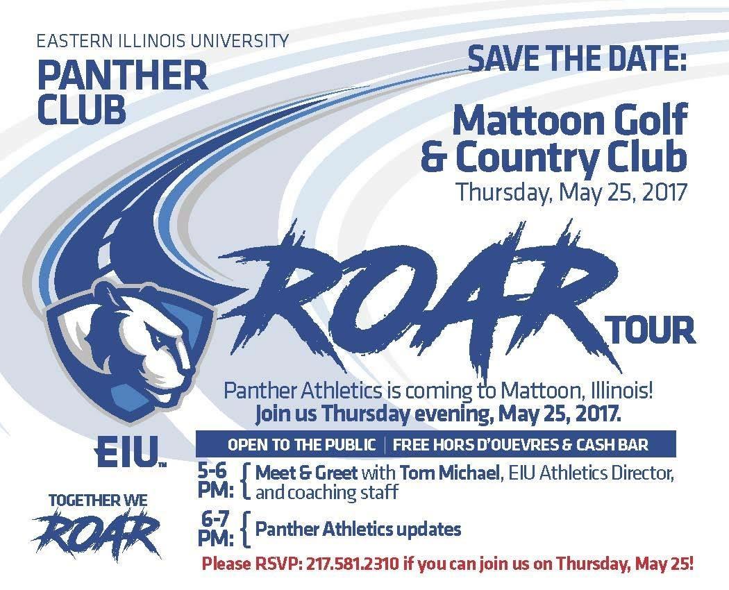 "EIU Panther Club's ""Roar Tour"""