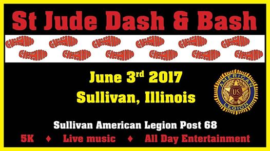3rd Annual St. Jude Dash & Bash Tomorrow