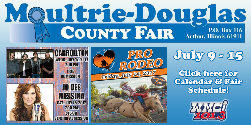 Moultrie-Douglas County Fair 2017 Schedule